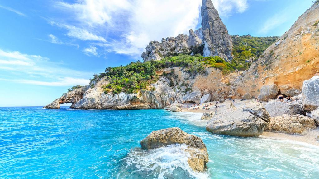 Cala Galoritze Traum Strand Sardinien