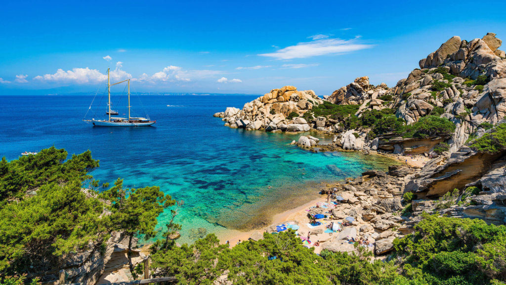 Cala Spinosa - Strand auf Sardinien