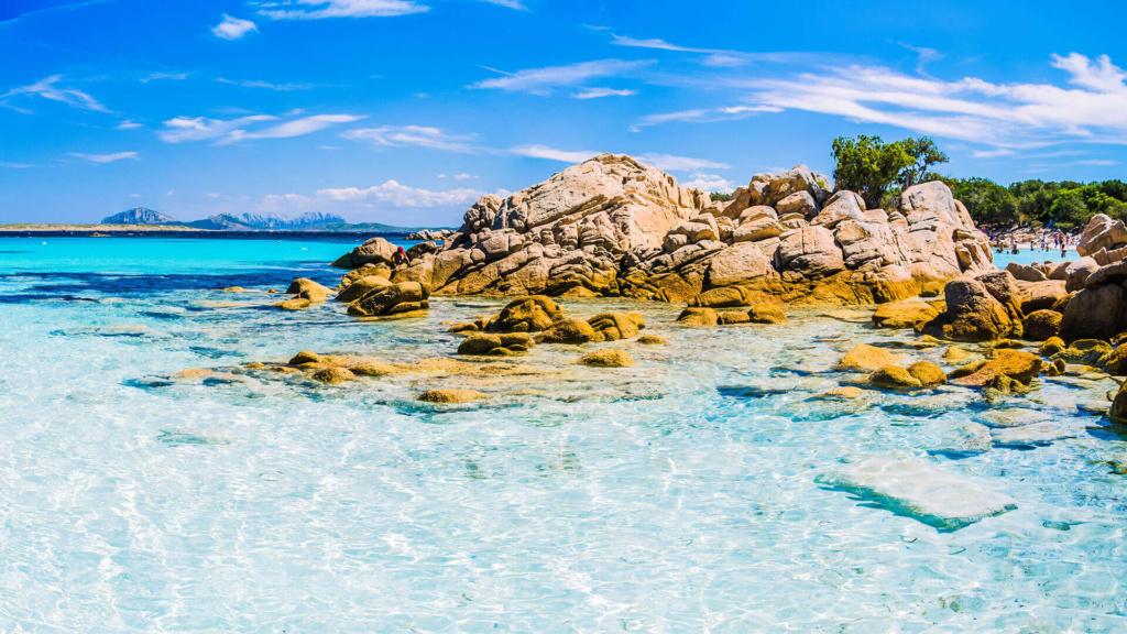 Spiaggia Capriccioli - Costa Smeralda Sardinien