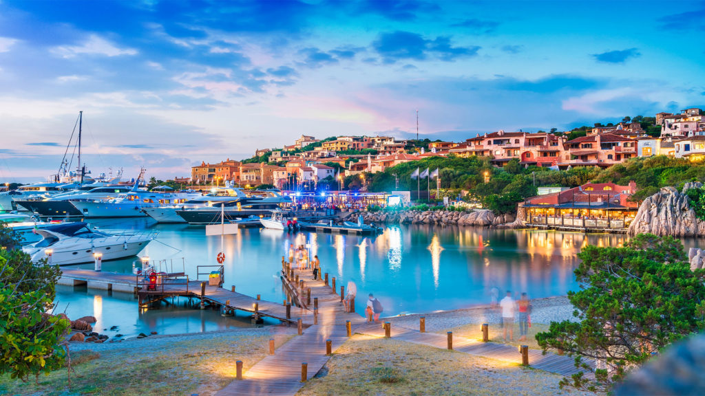 Hafen von Porto Cervo