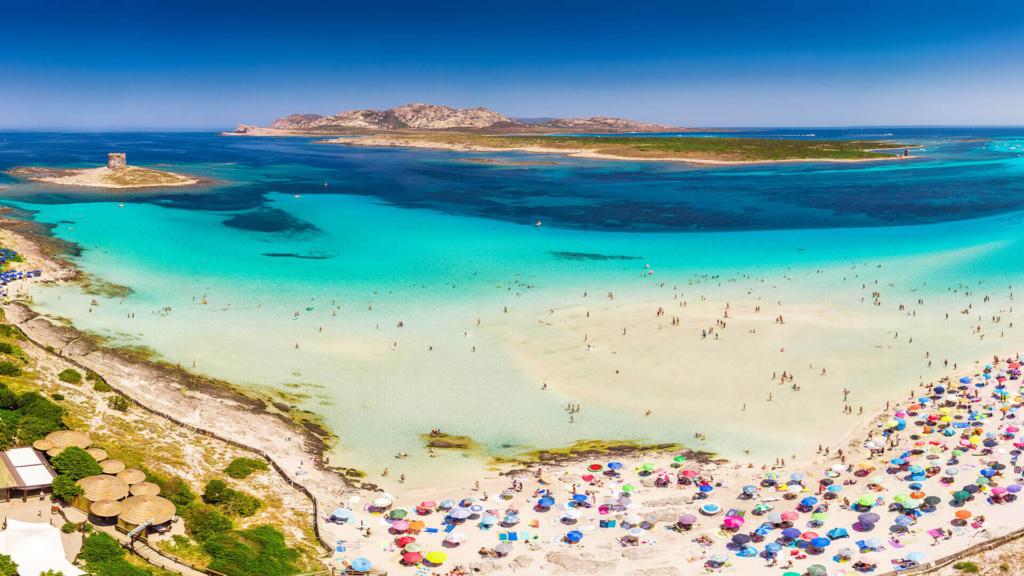Sardinien schönste Strände - La Pelosa