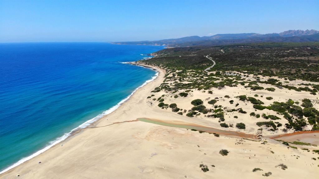 Strand Piscinas Sardinien
