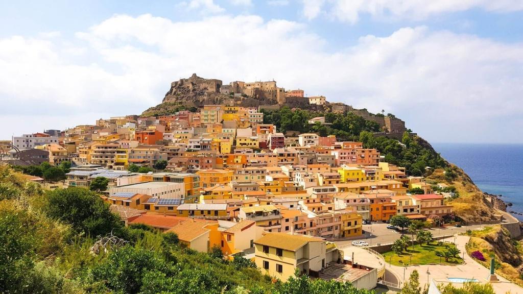 Castelsardo in Sardinien