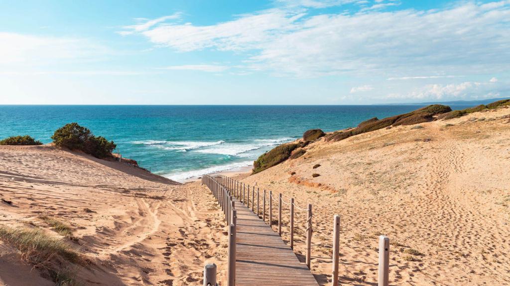 Strand Scivu Sardinien