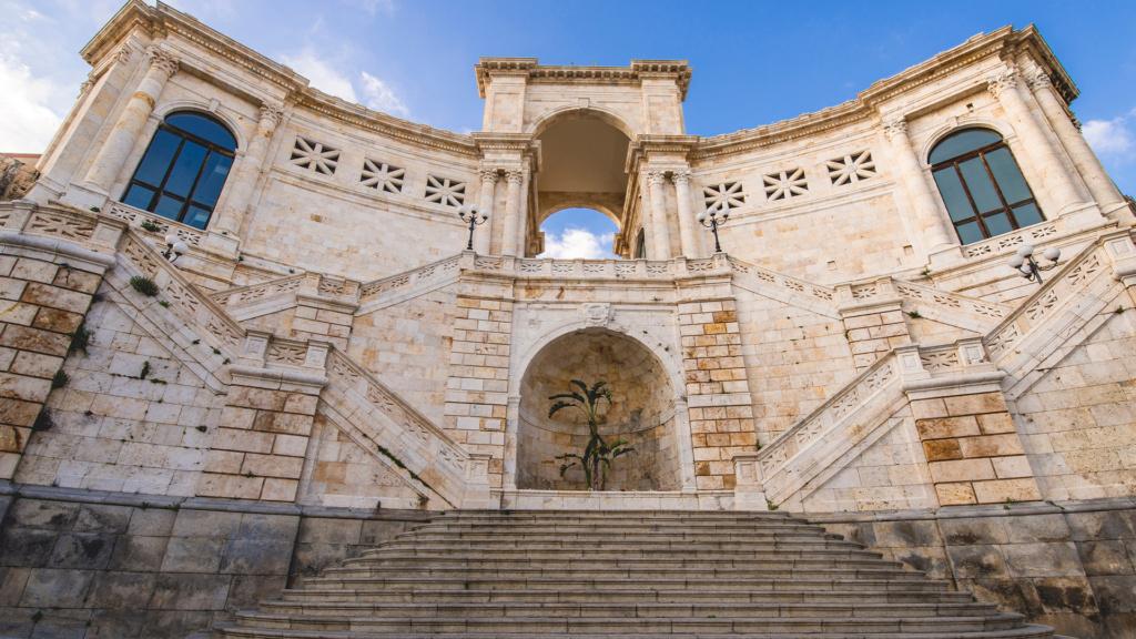 Bastione di Saint Remy in Cagliari