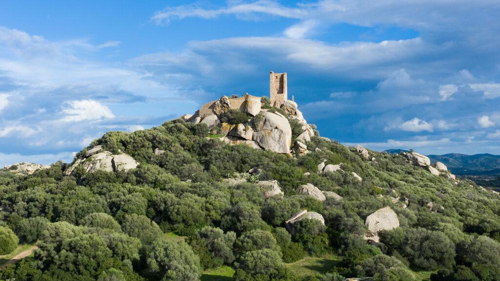 Das Castello die Pedres in der Nähe von Olbia