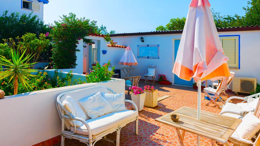 Ferienwohnung mit gemütlicher Terrasse auf Sardinien