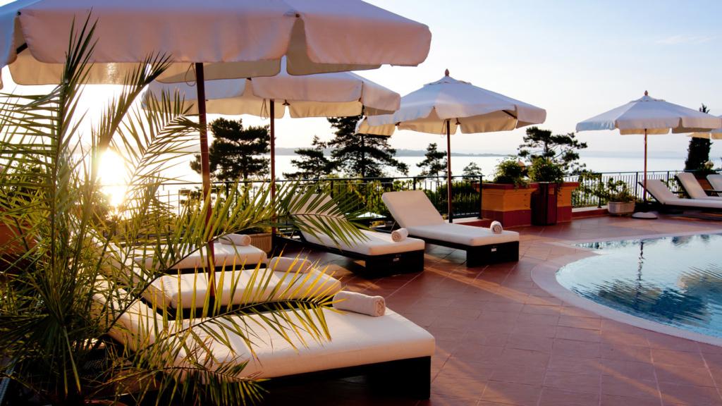 Hotel auf Sardinien am Strand