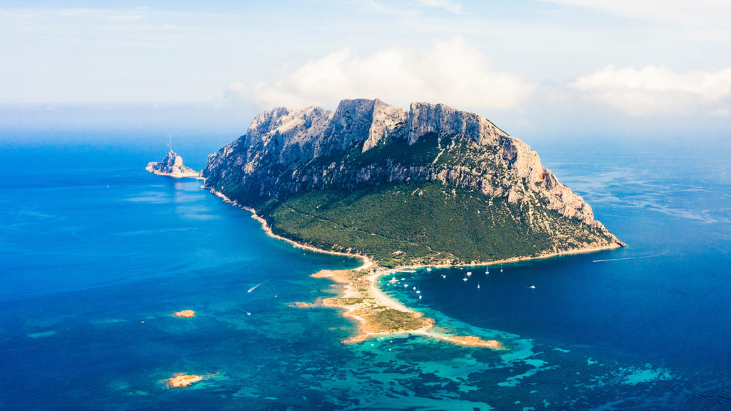 Insel Travolara vor Olbia