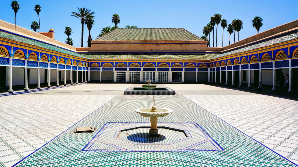 Marrakesch Bahia Palace Marokko