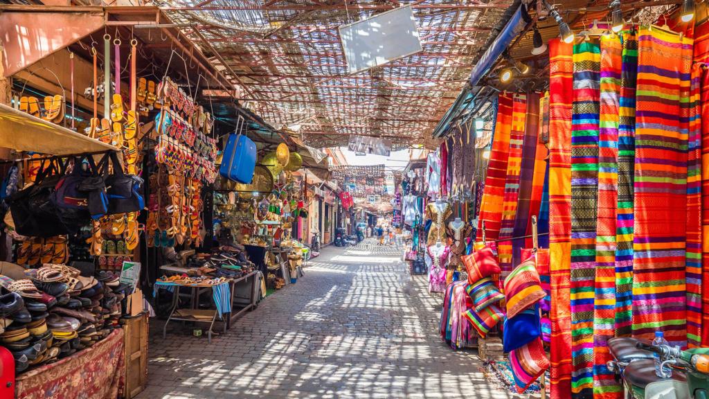 Marrakesch Djemaa el Fna in Medina
