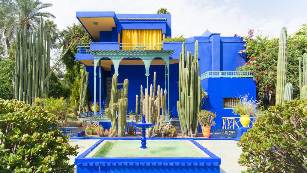 Marrakesch - Majorelle Garten botanischer Garten