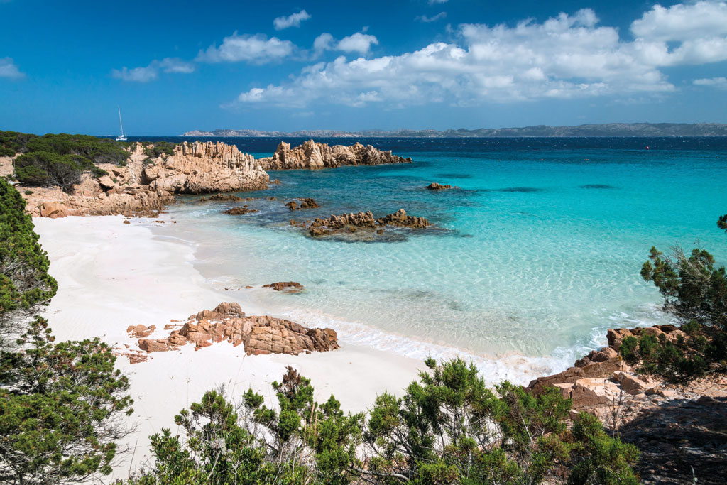 Nationalpark La-Maddalena-Archipel Sardinien