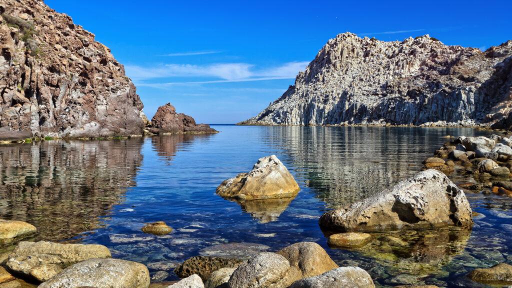 Landschaft auf San Piedro Sardinien