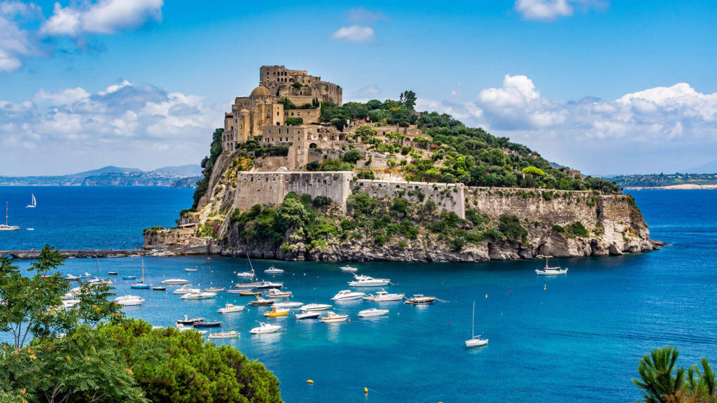 Castello Aragonese - Ischia Sehenswürdigkeiten