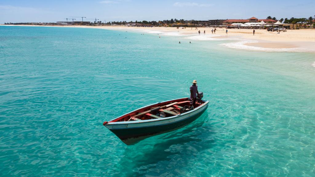 Fischerboot Kap Verde