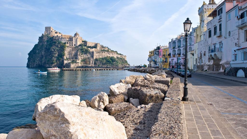 Ischia Stadt Castello Aragonese