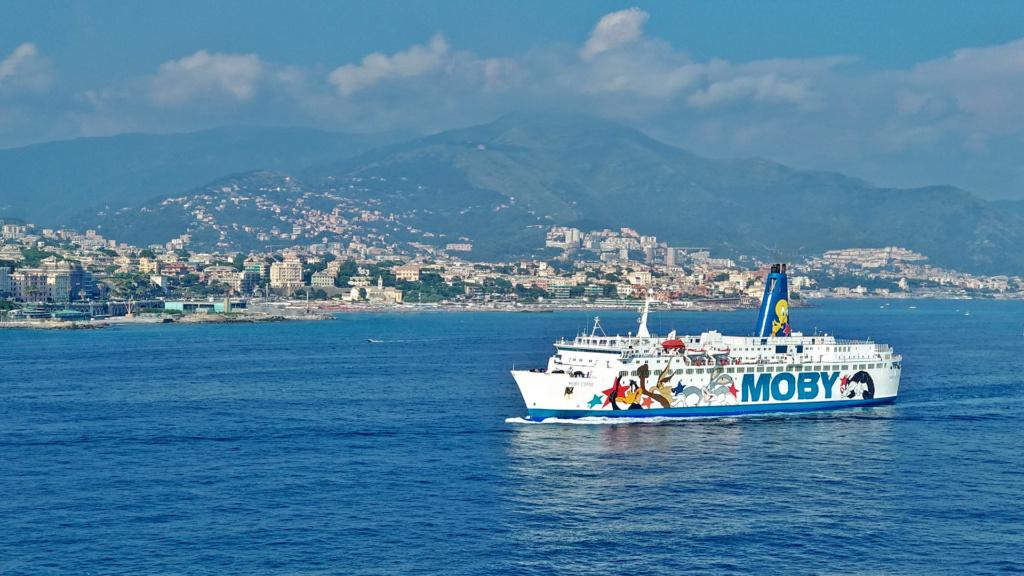 Mit Moby Lines nach Sardinien