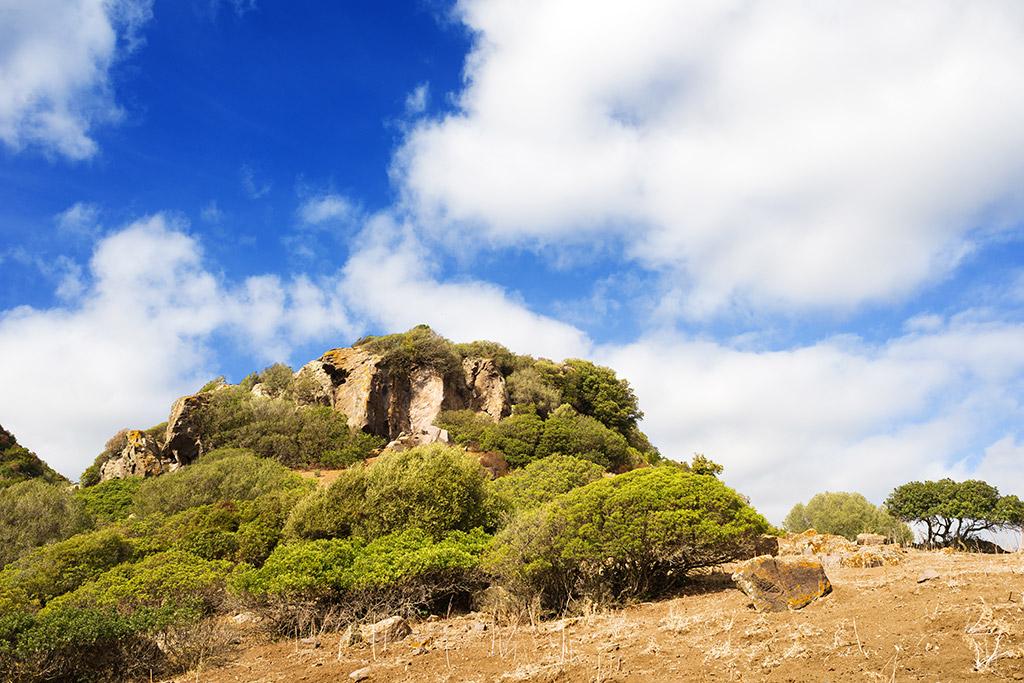 Vulcan Monte Arci - Sardinien