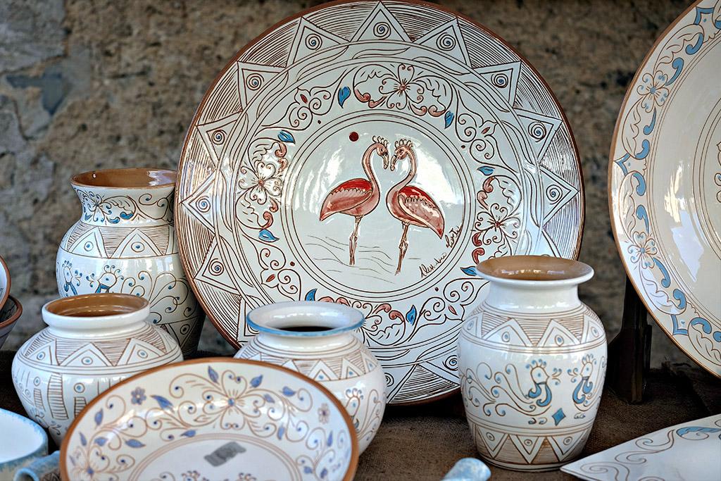 Kunstvolle Keramik als Souvenir aus Sardinien
